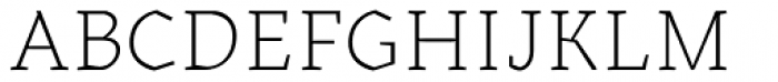 Kitsch Text Extralight Font UPPERCASE