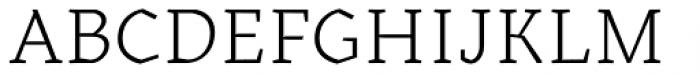 Kitsch Text Light Font UPPERCASE