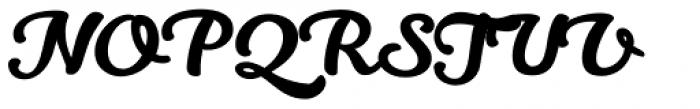 Kitten Swash Font UPPERCASE