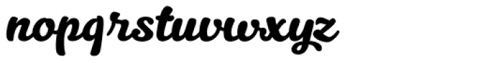 Kitten Font LOWERCASE