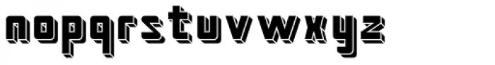 Kiub Rounded Solid Font LOWERCASE