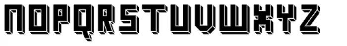 Kiub Squared Solid Font UPPERCASE
