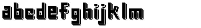Kiub Squared Solid Font LOWERCASE