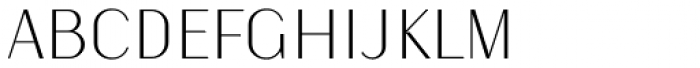 Kiyana Display Ultra Light Font UPPERCASE