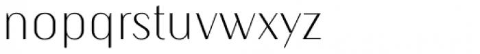 Kiyana Display Ultra Light Font LOWERCASE