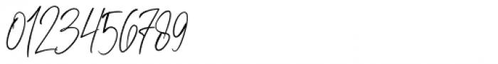 Kiysoom Signature Regular Font OTHER CHARS