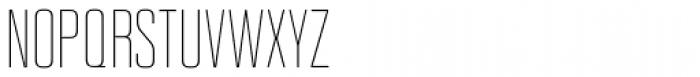 Kizo Light Font UPPERCASE