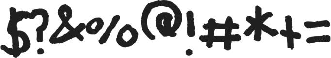 KK Font ttf (400) Font OTHER CHARS