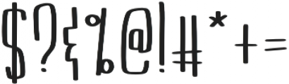 KL Boldface Regular otf (700) Font OTHER CHARS