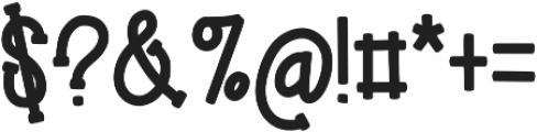 KL Elfed Regular otf (400) Font OTHER CHARS