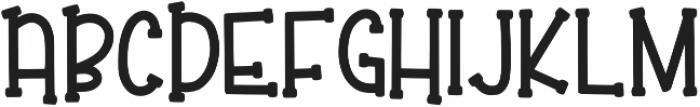 KL Elfed Regular otf (400) Font LOWERCASE