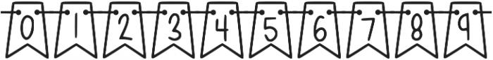 KL Jubilee Regular otf (400) Font OTHER CHARS