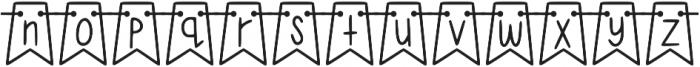 KL Jubilee Regular otf (400) Font LOWERCASE