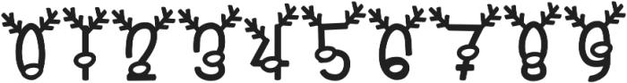KL Reindeer Goals Regular otf (400) Font OTHER CHARS