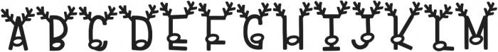KL Reindeer Goals Regular otf (400) Font UPPERCASE