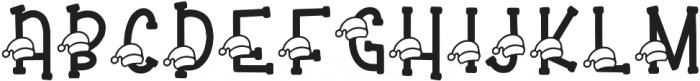 KL Secret Santa Regular otf (400) Font UPPERCASE