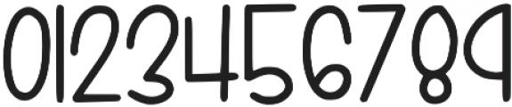 KL Simple Sunday Regular otf (400) Font OTHER CHARS