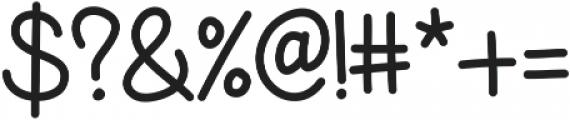 KLBeaches ttf (400) Font OTHER CHARS