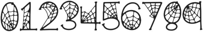 KLCobwebs Regular otf (400) Font OTHER CHARS