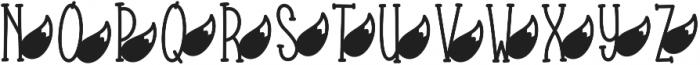 KLFauxTales ttf (400) Font LOWERCASE
