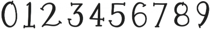 KLMermaidTailsNumbers ttf (400) Font OTHER CHARS