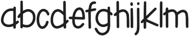 KLPenguin Grins Regular otf (400) Font LOWERCASE