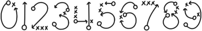 KLPlaybook Regular otf (400) Font OTHER CHARS