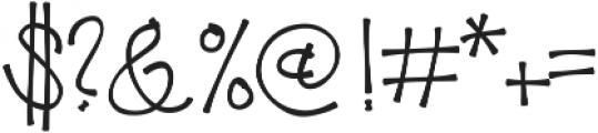 KLPricklyPear ttf (400) Font OTHER CHARS
