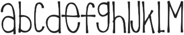 KLPricklyPear ttf (400) Font LOWERCASE