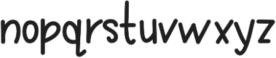 KLSweetBerries ttf (400) Font LOWERCASE