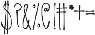 KLSweetPineappleThin ttf (100) Font OTHER CHARS