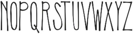 KLSweetPineappleThin ttf (100) Font UPPERCASE