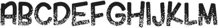 KlGlitterinmyVeins Regular otf (400) Font UPPERCASE