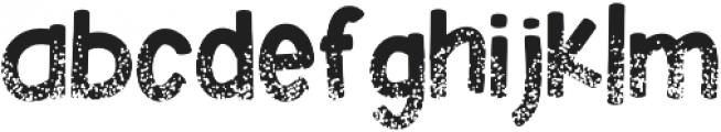 KlGlitterinmyVeins Regular otf (400) Font LOWERCASE