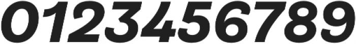 Klainy Bold Italic otf (700) Font OTHER CHARS