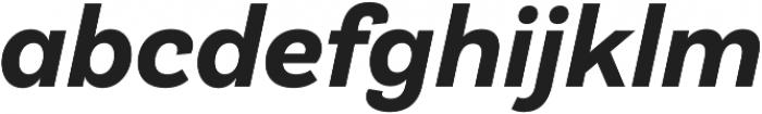 Klainy Bold Italic otf (700) Font LOWERCASE