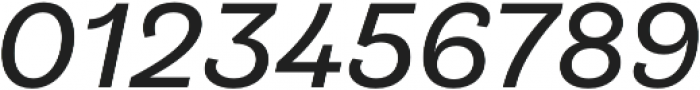 Klainy Book Italic otf (400) Font OTHER CHARS