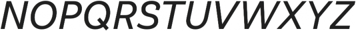 Klainy Book Italic otf (400) Font UPPERCASE