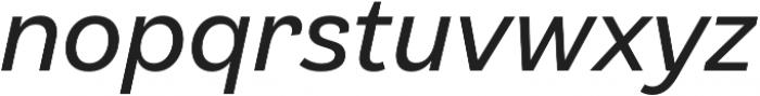 Klainy Book Italic otf (400) Font LOWERCASE