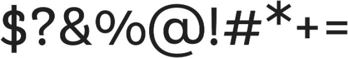 Klainy Book otf (400) Font OTHER CHARS