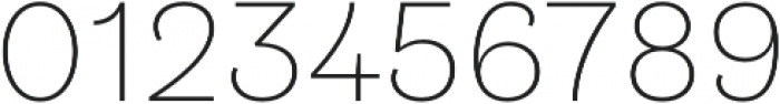 Klainy Extra Light otf (200) Font OTHER CHARS