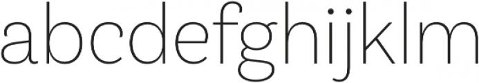 Klainy Extra Light otf (200) Font LOWERCASE