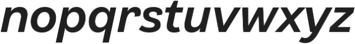 Klainy Medium Italic otf (500) Font LOWERCASE