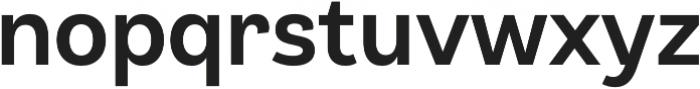 Klainy Medium otf (500) Font LOWERCASE