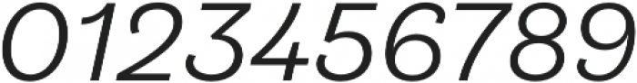 Klainy Regular Italic otf (400) Font OTHER CHARS