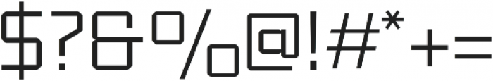 Klapt otf (400) Font OTHER CHARS