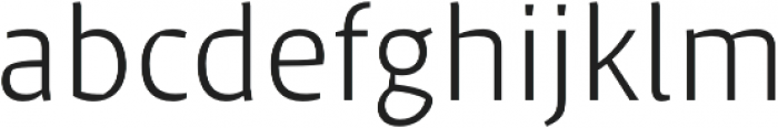 Klaus FY Light otf (300) Font LOWERCASE