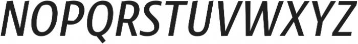 Klaus FY Medium Italic otf (500) Font UPPERCASE