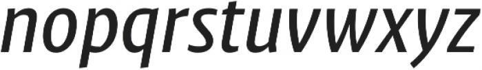 Klaus FY Medium Italic otf (500) Font LOWERCASE