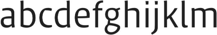 Klaus FY otf (400) Font LOWERCASE